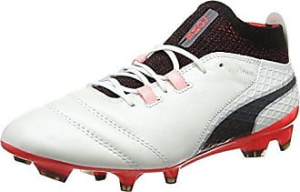 Puma Future 18.2 Netfit FG/AG, Chaussures de Football Homme, Bleu (Deep Lagoon White-Green Gecko), 47 EU