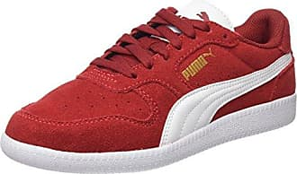 Puma Flex T1 Reveal, Zapatillas Unisex Adulto, Rojo (Flame Scarlet-Puma White-Red Dahlia), 46 EU