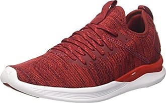 Puma Easy Rider Classic, Sneakers Basses Mixte Adulte, Rouge (Red Dahlia-Whisper White-Gold), 38 EU