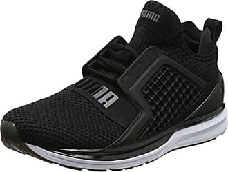 Puma Ignite Evoknit 2, Chaussures de Cross Homme, Noir Black-Asphalt White, 48.5 EU