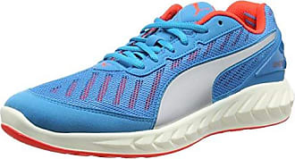 Speed 300 S Disc - Chaussures de Course - Mixte Adulte - Bleu (Atomic Blue/Red Blast/White) - 43 EU (9 UK)Puma