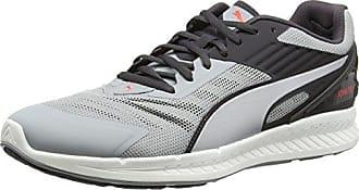 Puma Ignite v2 - Chaussures de Course - Mixte Adulte - Multicolore (Quarry/Asphalt Silver) - 45 EU (10.5 UK)