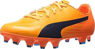 Puma Herren Evospeed 17.5 FG Fußballschuhe, Gelb (Ultra Yellow-Peacoat-Orange Clown Fish 04), 42.5 EU
