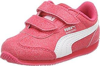 Puma Whirlwind Glitz V PS, Zapatillas para Niñas, Rosa (Paradise Pink-Puma White), 29 EU
