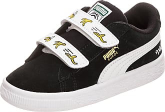 Puma Unisex-Kinder Minions Suede V PS Sneaker, Schwarz Black White, 30 EU