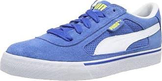 Puma 359169 - Zapatillas de Piel Unisex Adultos, Color Azul, Talla 38.5 EU