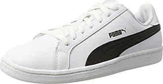 Puma ELSU V2 CV - Zapatillas Unisex Adulto, Blanco (White-Black 01), 37.5 EU