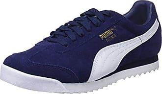 Puma Liga Suede, Zapatillas Unisex Adulto, Azul (Blue Indigo-Flame Scarlet-Whisper White), 46 EU