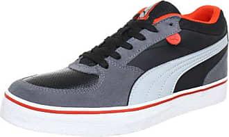 Puma Skate Vulc Black/High Rise Gray/Miami Scarpe/Sneaker 354604 04 NUOVO