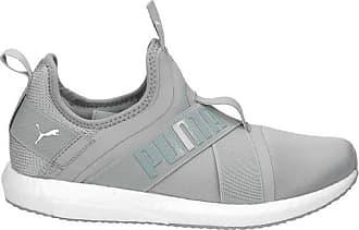 Puma Slip-On Sneaker Damen, hellgrau