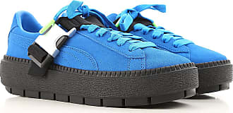 Sneakers for Women, Electric Blue, suede, 2017, US 7 - UK 4 5 - EU 37 5 - JP 23 5 US 7 5 - UK 5 - EU 38 - JP 24 Puma