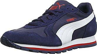 Puma 1948 Vulc Unisex Adulti'S Low Top Scarpe Da Ginnastica Blu Peacoat/White 02 3.5 UK