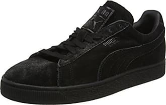 Puma Liga Leather, Sneakers Basses Mixte Adulte, Noir (Black-Black), 41 EU