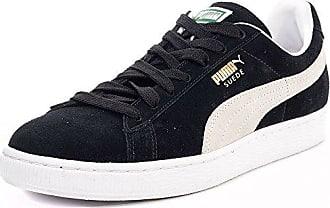 Suede Classic Eco 352634 33 Herren Suede Laced Trainers schwarz weiß - 8 Puma
