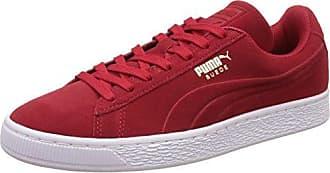 Suede Classic+ - Sneakers Basses - Mixte Adulte - Rouge (Burgundy/White 75) - 42.5 EU (8.5 UK)Puma