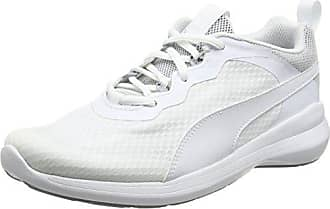 Puma Play CITI, Zapatillas Unisex Adulto, Blanco (Puma White-Whisper White 02), 38 EU