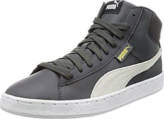 Puma St Trainer Evo Demi Twill, Baskets Basses Mixte Adulte, Gris (Asphalt-Asphalt 01), 42 EU