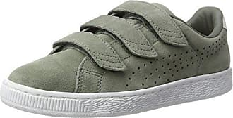 Puma Suede Classic+, Sneakers Basses Mixte Adulte, Vert (Olive Night-Birch), 40.5 EU