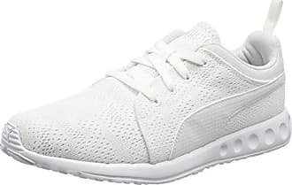 Carson Runner Camo Mesh EEA - Baskets - Mixte Adulte - Blanc (White/White 08) - 39 EU (6 UK)Puma