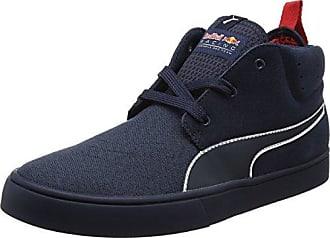 Puma Liga Suede, Sneakers Basses Mixte Adulte, Bleu (Blue Indigo-Flame Scarlet-Whisper White), 46 EU