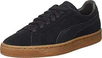Nero 42.5 EU PUMA SUEDE CLASSIC SNEAKERS DA UOMO BLACK/TEAM GOLD/WHITE 8.5