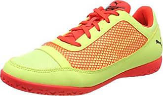 Puma Future 18.4 TT V Inf, Zapatos de Futsal Unisex Niños, Amarillo (Fizzy Yellow-Red Blast-Puma Black), 19 EU