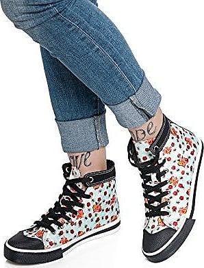 Pussy Deluxe - Flowers and Bees Sneaker - Sneaker - hellblau