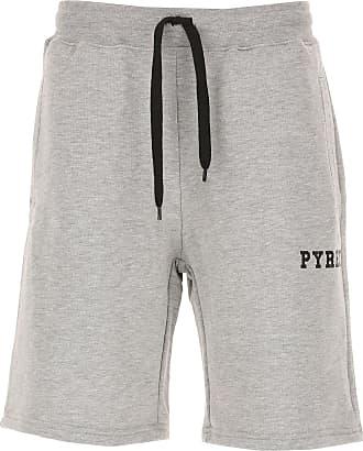 Pyrex Shorts para Mujer, Pantalones Cortos Baratos en Rebajas, Negro, Algodon, 2017, 40 42 44