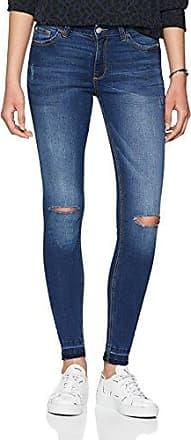 Q/S designed by 45899710453, Jeans para Mujer, Azul (Blue Denim, Heavy Stone W 56Z6), W34/L32