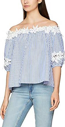Bardot Pinstripe Crochet, T-Shirt Manches Longues Femme, Bleu (Blue and White 0), 38(Taille du Fabricant: Medium)Quiz