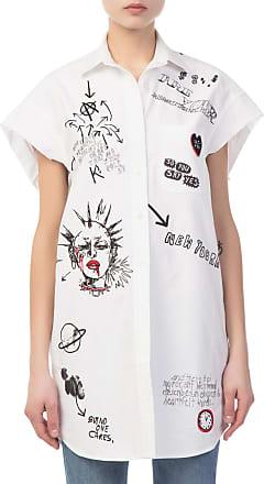 Bedrucktes Oversized-oberteil Aus Baumwoll-jersey In Distressed-optik - Schiefer R13