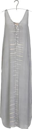 Langes Kleid aus Modal und Seide in Tie-and-dye-Optik Rabens Saloner