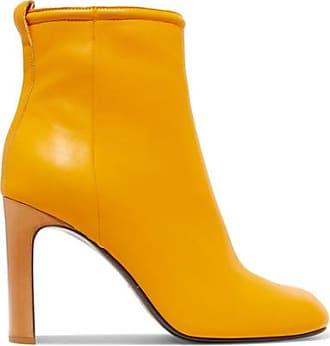 Ellis Ankle Boots Aus Leder - Gelb Rag & Bone