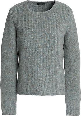 Rag & Bone Woman Intarsia-knit Sweater Army Green Size XS Rag & Bone