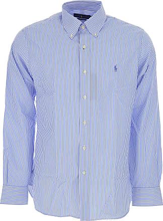 Shirt for Men, White, Cotton, 2017, 15 16 17 Ralph Lauren