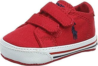Ralph Lauren Easten Ez, Zapatillas Chica, Rojo (Red Canvas 000), 24 EU