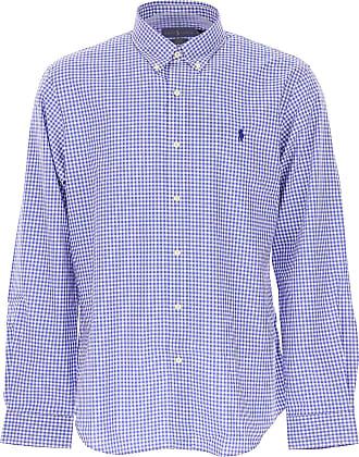 Shirt for Men On Sale, White, Cotton, 2017, XL - IT 52 Ralph Lauren