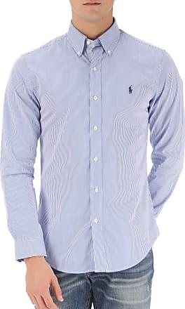 Shirt for Men On Sale, Pink, linen, 2017, S - IT 46 M - IT 48 L - IT 50 Ralph Lauren