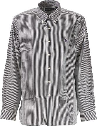 Camisa de Hombre Baratos en Rebajas Outlet, Azul Cielo, Algodón, 2017, one size Ralph Lauren