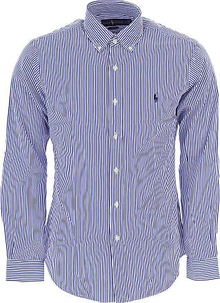 Shirt for Men On Sale in Outlet, Cream, Cotton, 2017, M - IT 48 Ralph Lauren