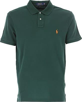 Camiseta de Hombre Baratos en Rebajas, Azul Crucero, Algodon, 2017, L M S XL XXL Ralph Lauren
