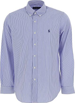 Shirt for Men On Sale, Crimson, Cotton, 2017, S - IT 46 M - IT 48 L - IT 50 XL - IT 52 Ralph Lauren