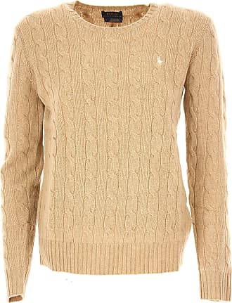 Sweater for Women Jumper On Sale, Violet, Wool, 2017, 6 Ralph Lauren
