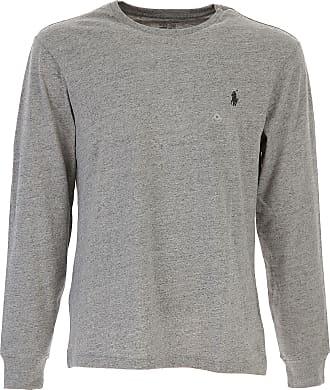 Sweatshirt for Men On Sale, Salmon Pink, Cotton, 2017, M S XL Ralph Lauren