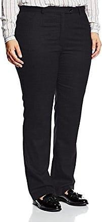 Comma 81702734659, Pantalones para Mujer, Negro (Black 9999), W34/L32