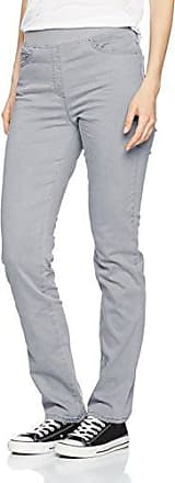Pamina (Slim) 18-1557, Pantalon, Femme, Beige (Biscuit 60) - Taille: W38/L30 (Taille Fabricant: 48K)Raphaela by Brax