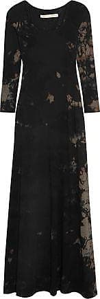 1/2 Sleeve Drama Maxi Dress in Black,Brown,Ombre & Tie Dye Raquel Allegra