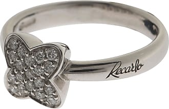 Recarlo Ring for Women, White Gold, 18 kt White Gold, 2017, USA 7 1/2 (I 16 - GB O 1/2)