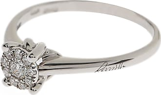 Recarlo Ring for Women, White Gold, 18 kt White Gold, 2017, USA 7 ( I 15 - GB N 1/2)