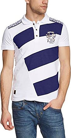 Redbridge Polo - Manches Longues Homme - Blanc - Blanc - FR : XX-Large (Taille Fabricant : XXL) (Brand size : XXL)
